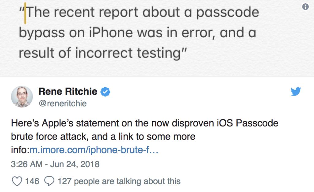 Ασφάλεια Των iPhone