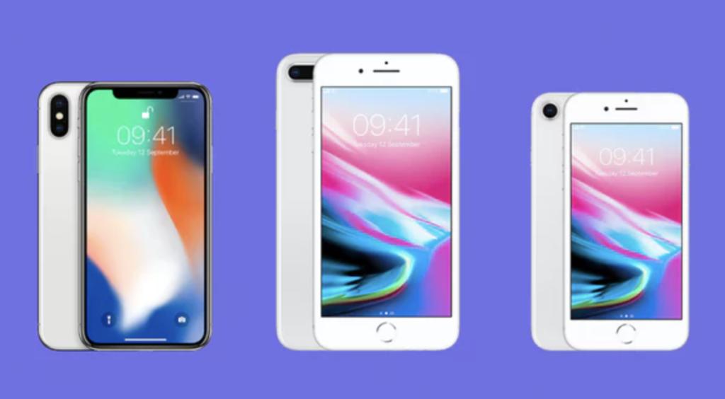 τρία νέα iphone