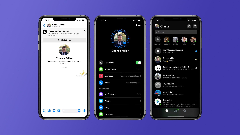 69d171a6144 Messenger Dark Mode: Άλλαξε Τον Τρόπο Που Βλέπεις Τα Μηνύματά Σου!
