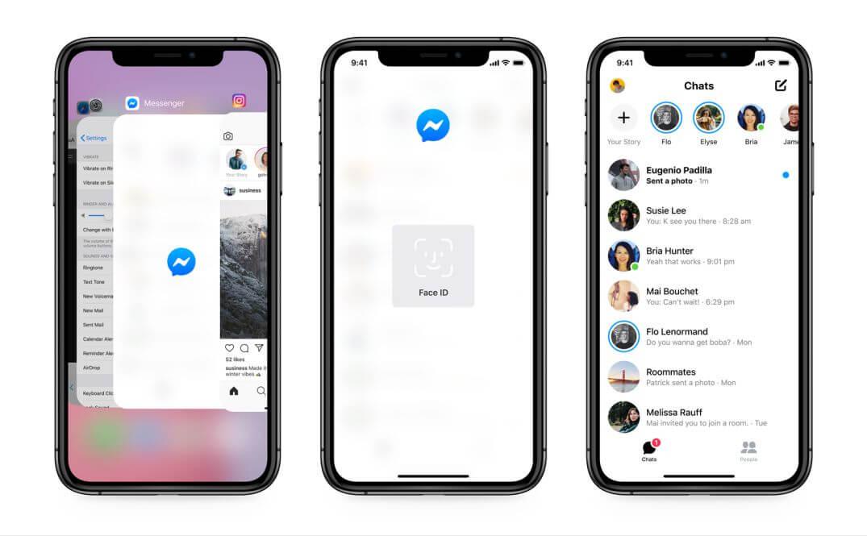 Facebook Messenger: Έρχεται Υποστήριξη για το Face ID!