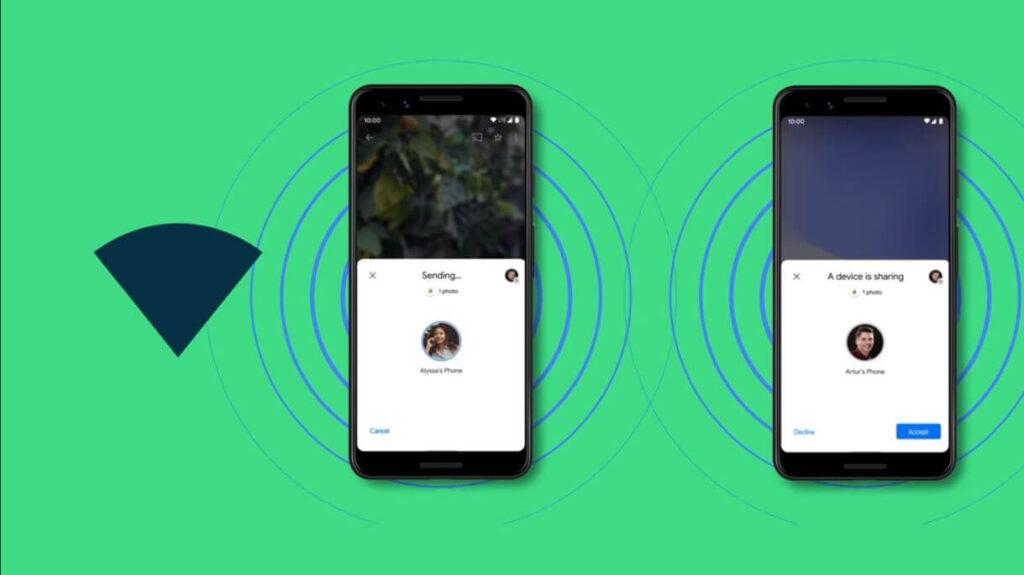 Nearby Share: Διαθέσιμη η Άμεση Αποστολή Αρχείων σε Android!