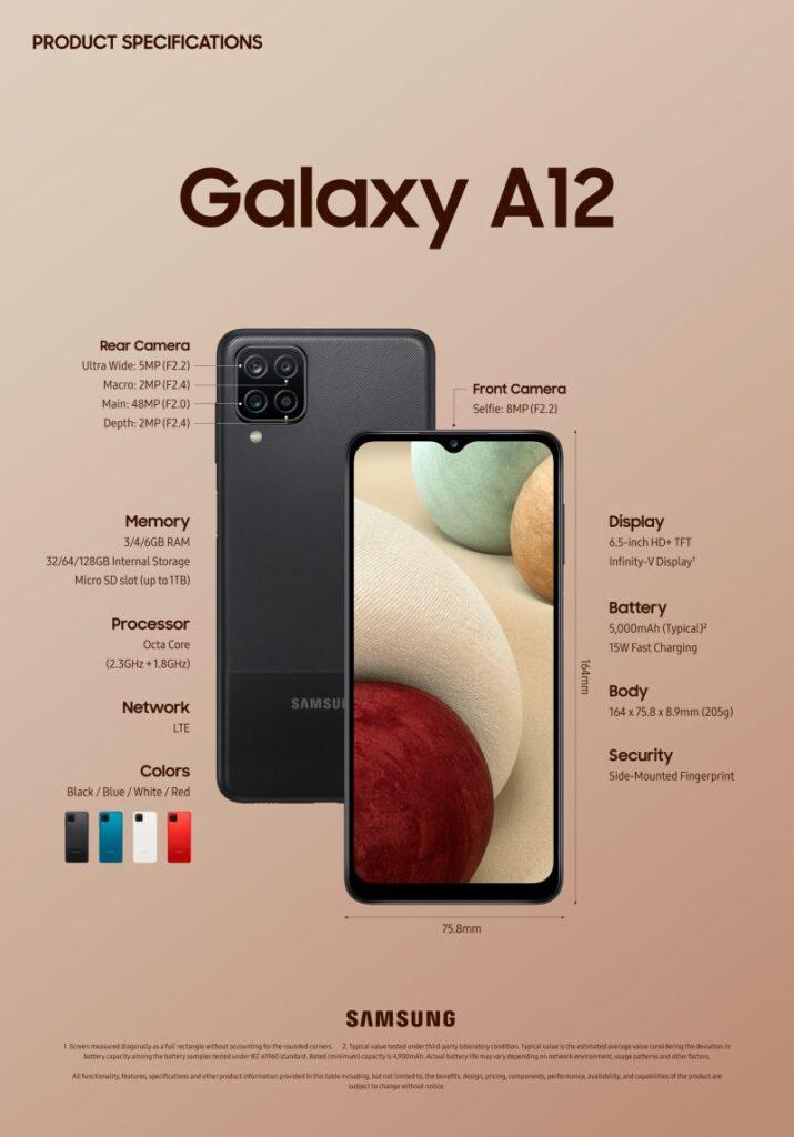 Samsung Galaxy A12 και Galaxy A02s: Διαθέσιμα το 2021 σε Τιμές & Δυνατότητες που Εκπλήσσουν!