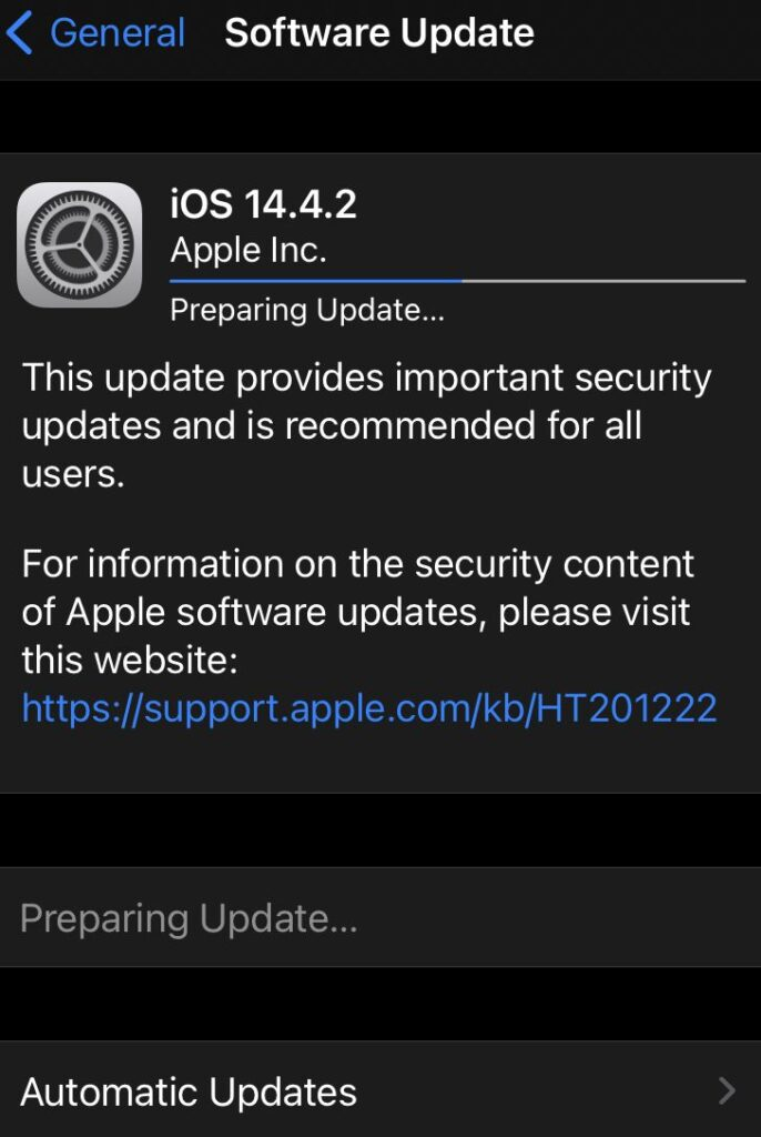 iOS 14.4.2: Αναβθμίσου Άμεσα-Κλείνει Επικίνδυνη Ευπάθεια!