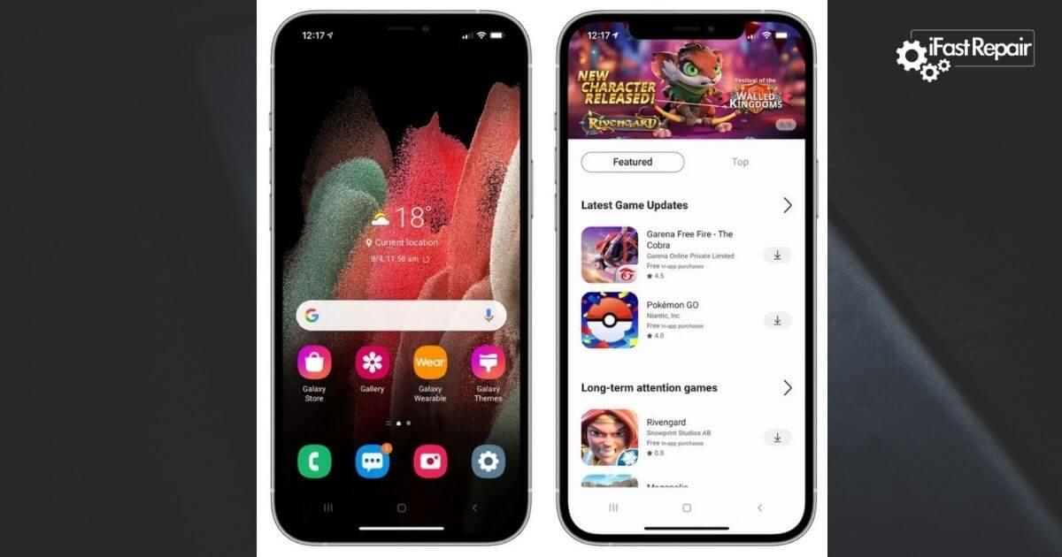 Τώρα Μπορείς να Κάνεις το iPhone σου... Android powered by Samsung! (ΒΙΝΤΕΟ)