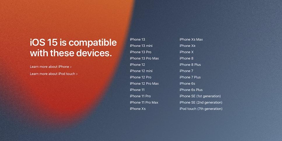 Το iOS 15 είναι εδώ - Δες τις συμβατές συσκευές!
